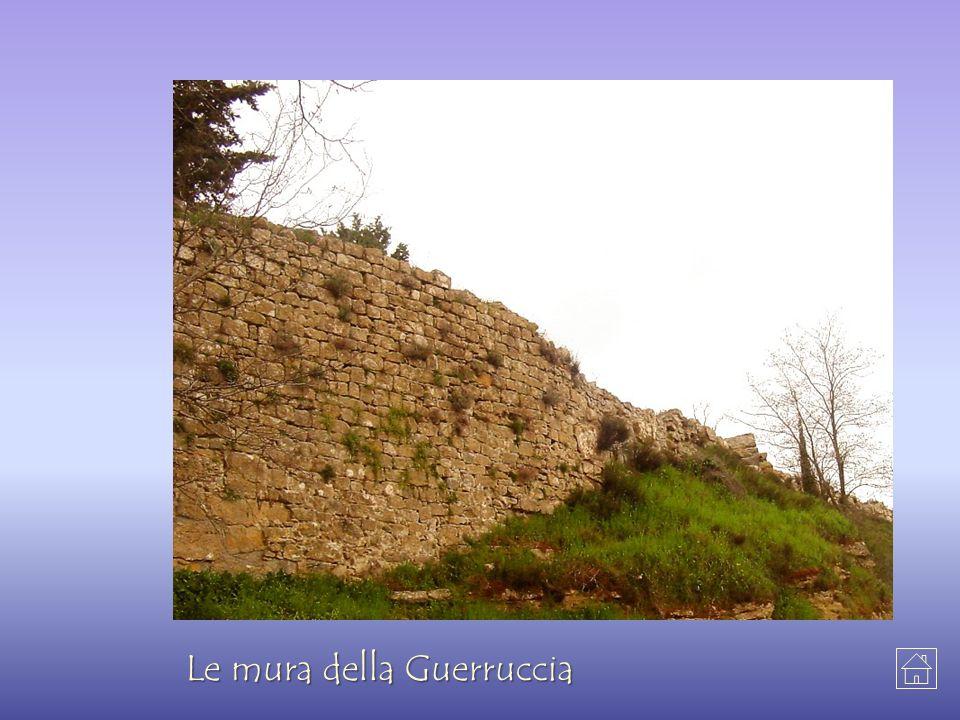 Le mura della Guerruccia