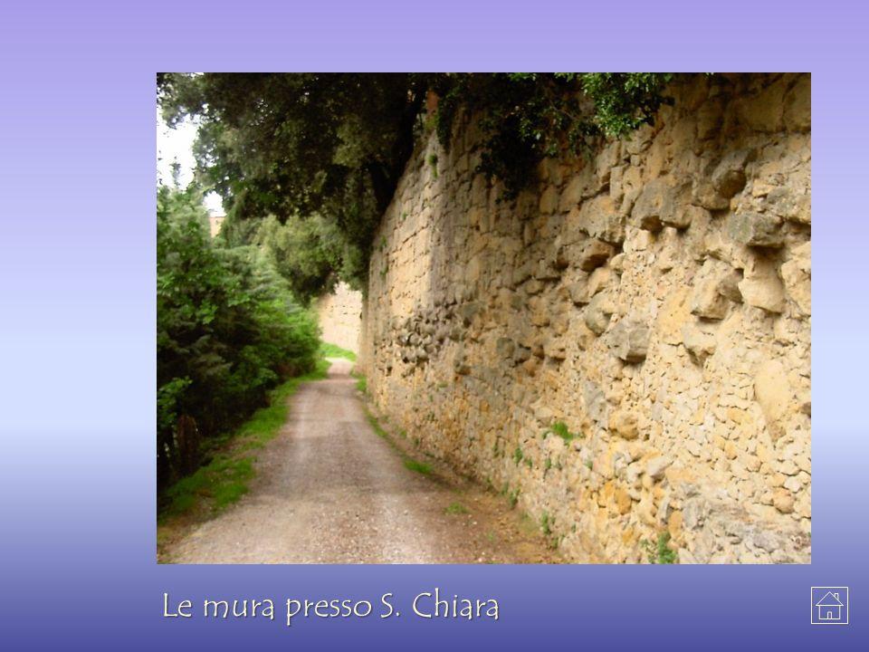 Le mura presso S. Chiara