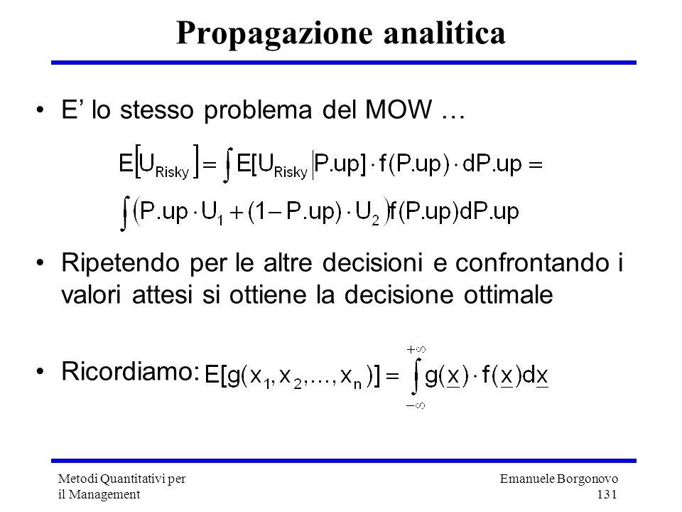 Propagazione analitica