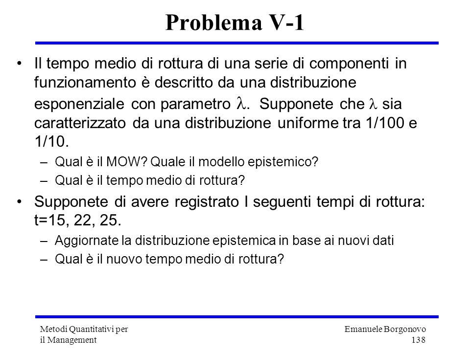 Problema V-1