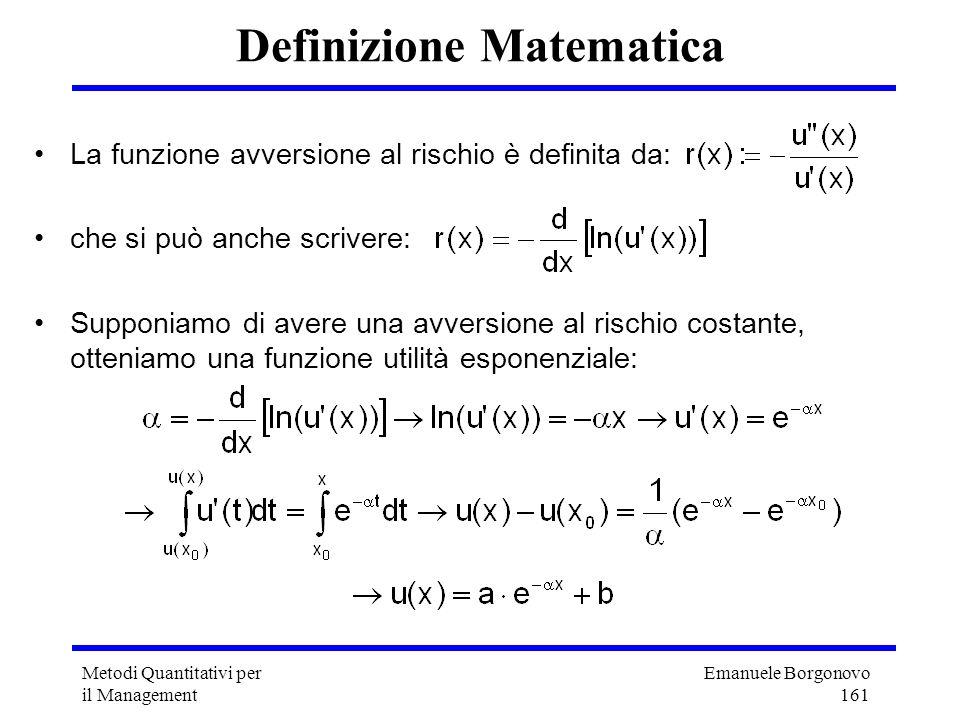 Definizione Matematica