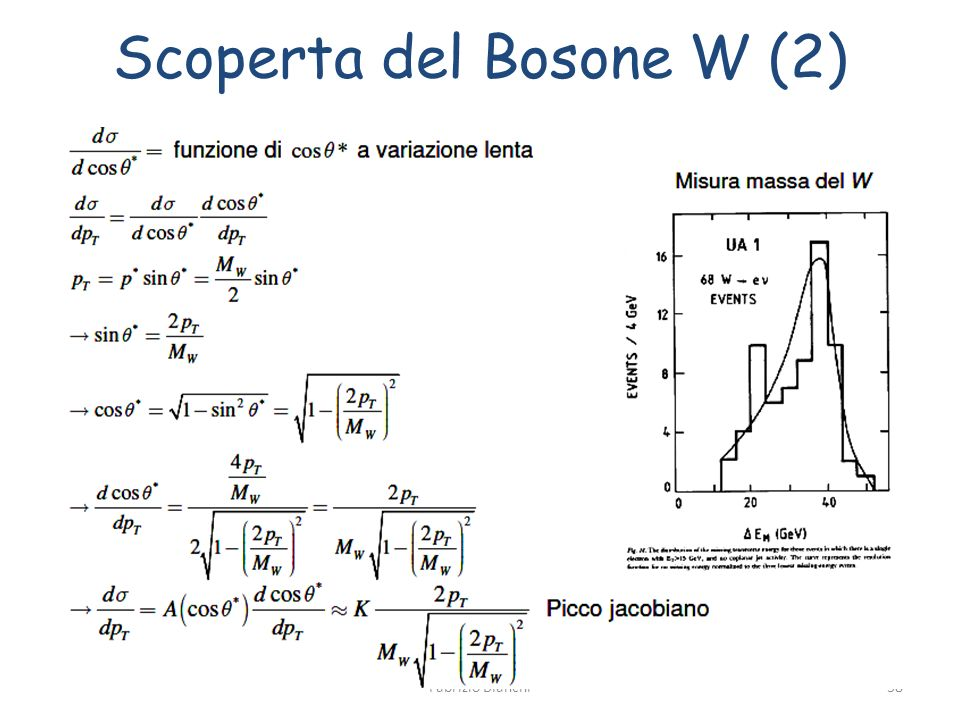 Scoperta del Bosone W (2)