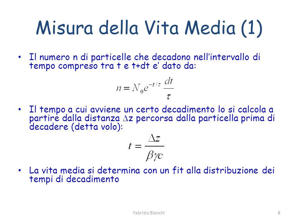 Misura della Vita Media (1)