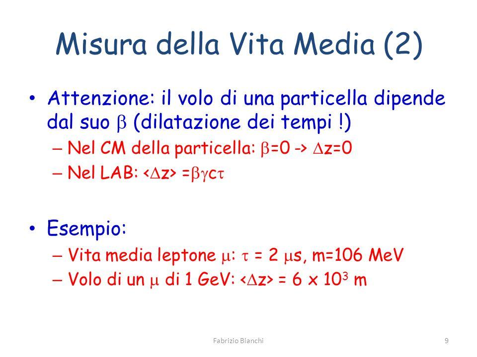 Misura della Vita Media (2)