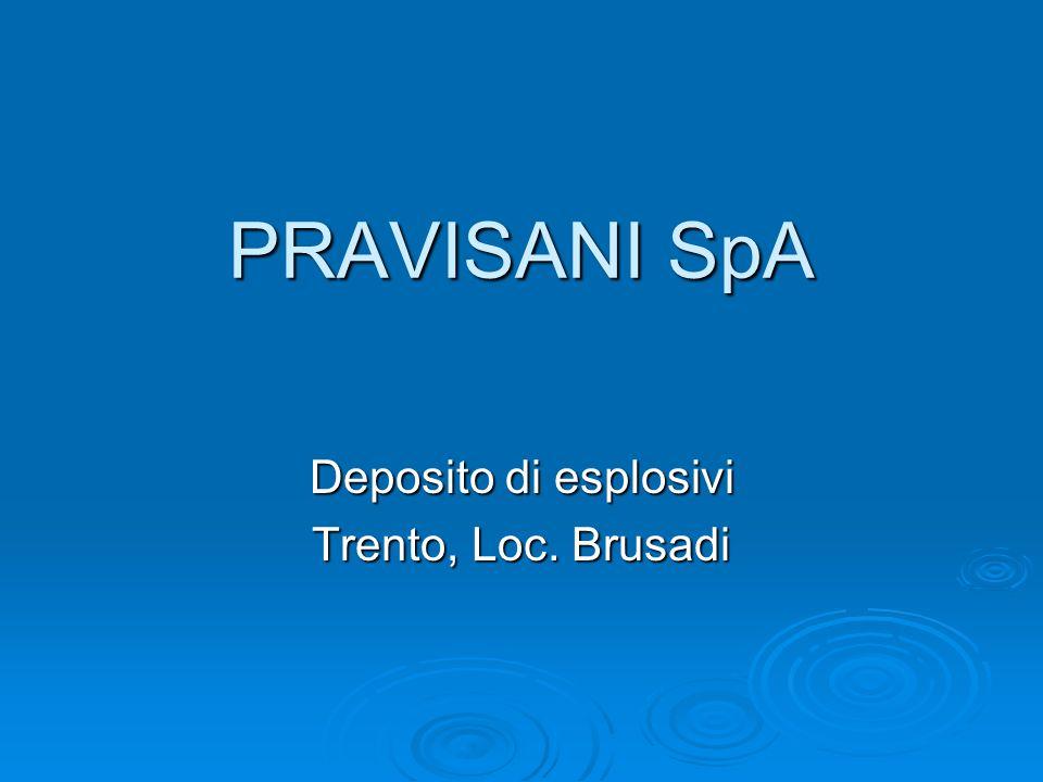 Deposito di esplosivi Trento, Loc. Brusadi