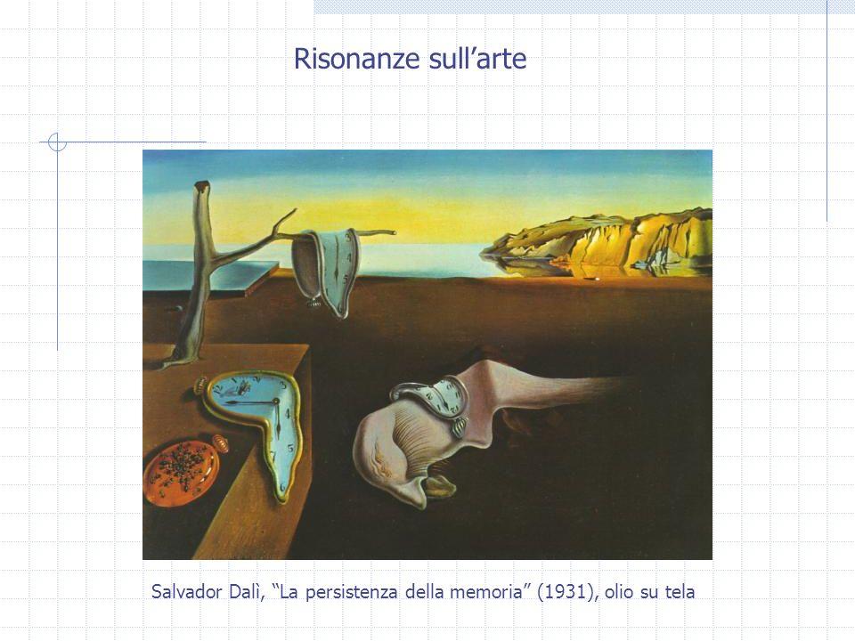 Risonanze sull'arte Salvador Dalì, La persistenza della memoria (1931), olio su tela