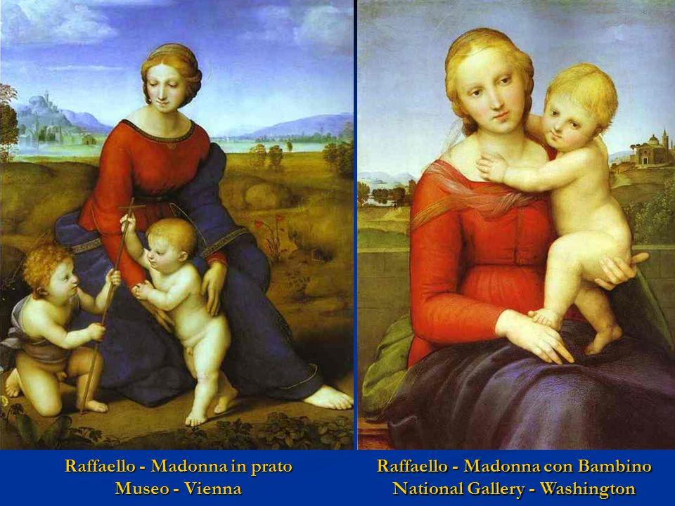 Raffaello - Madonna in prato Museo - Vienna