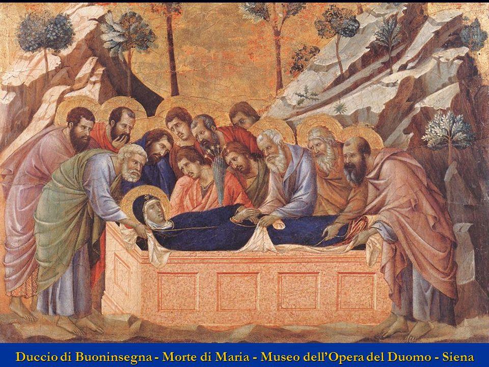 Duccio di Buoninsegna - Morte di Maria - Museo dell'Opera del Duomo - Siena