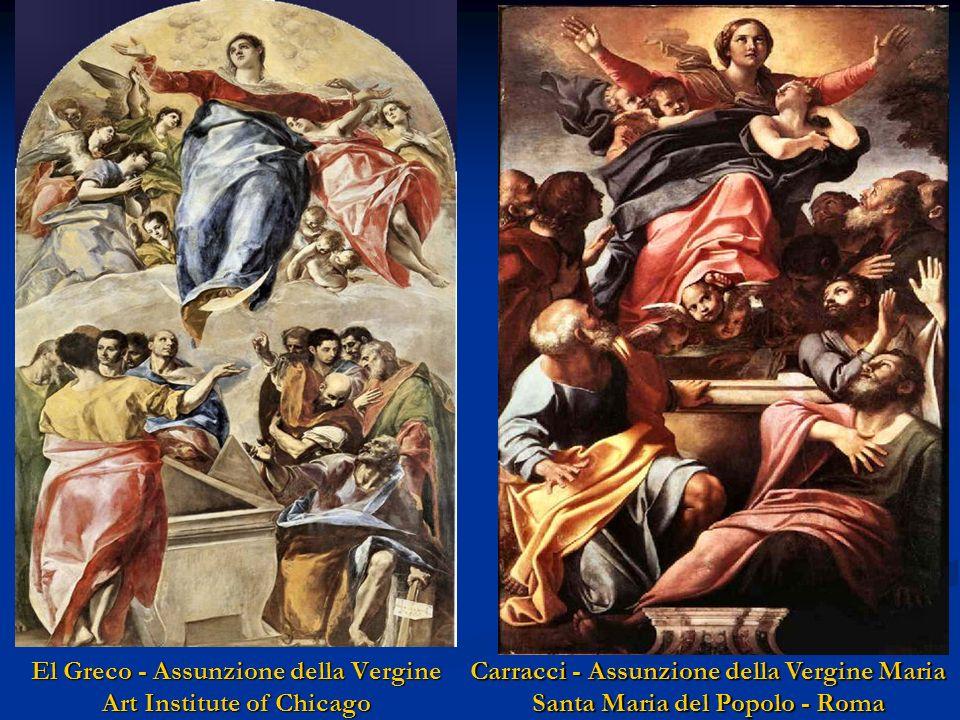 El Greco - Assunzione della Vergine Art Institute of Chicago