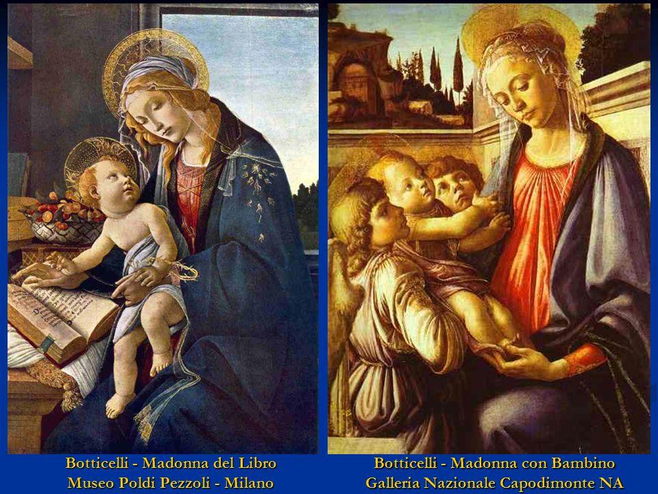 Botticelli - Madonna del Libro Museo Poldi Pezzoli - Milano