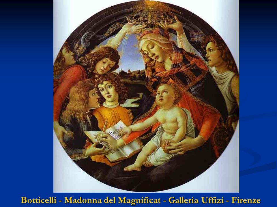 Botticelli - Madonna del Magnificat - Galleria Uffizi - Firenze