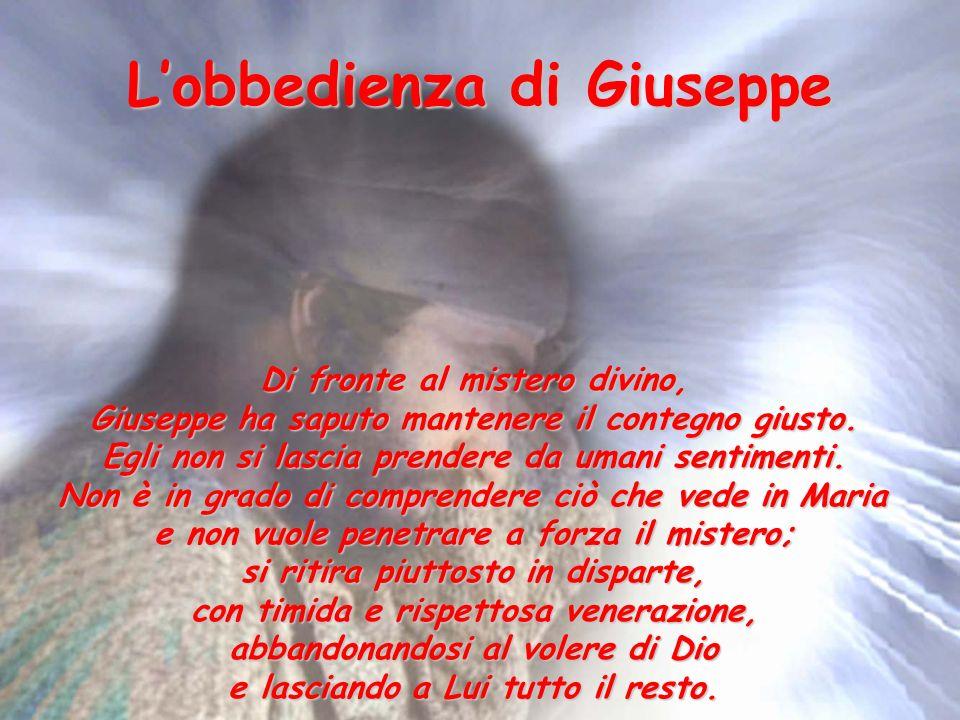 L'obbedienza di Giuseppe