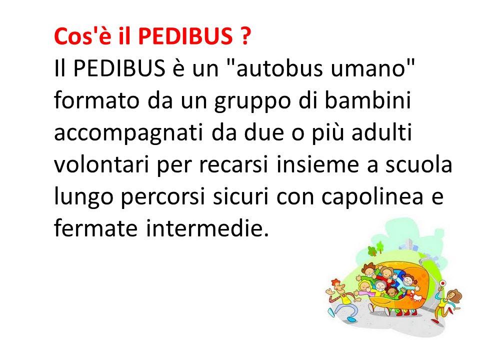 Cos è il PEDIBUS .