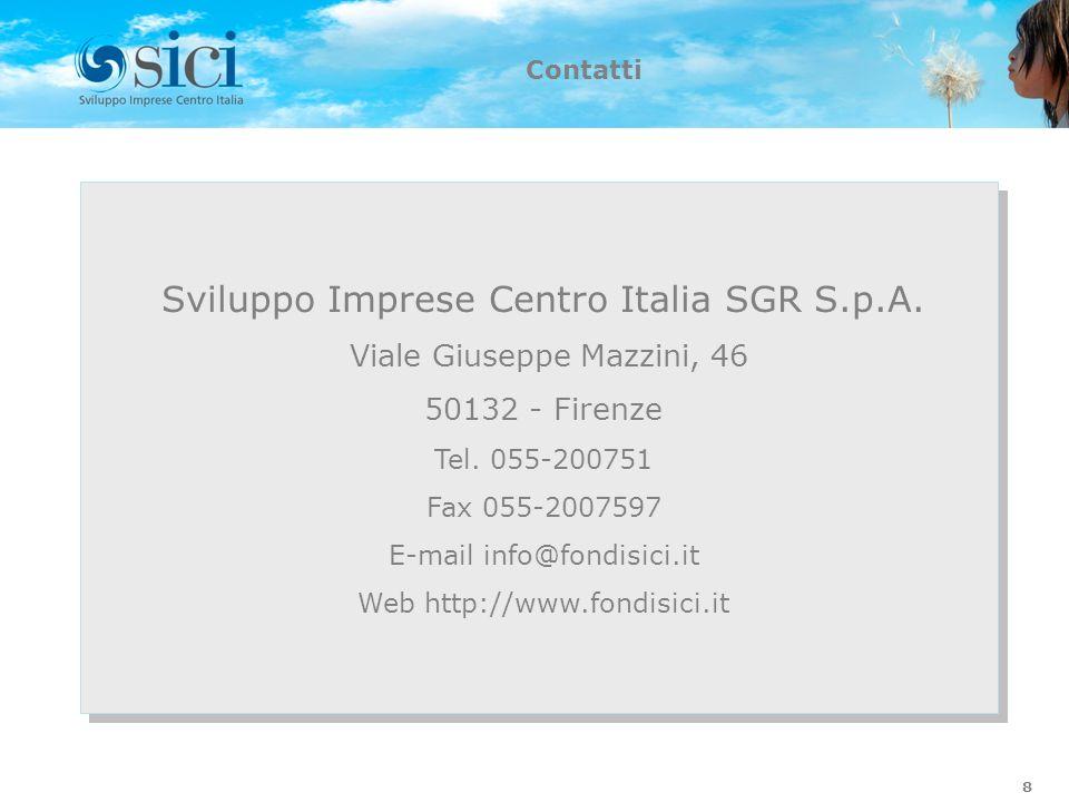 Sviluppo Imprese Centro Italia SGR S.p.A.