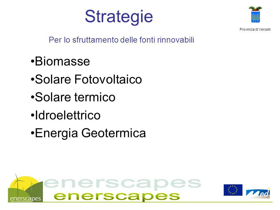 Strategie Per lo sfruttamento delle fonti rinnovabili
