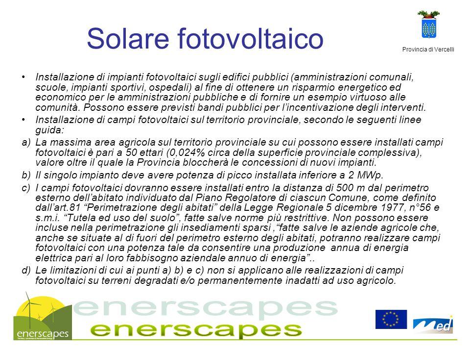 Solare fotovoltaico enerscapes