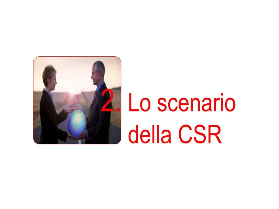 2. Lo scenario della CSR