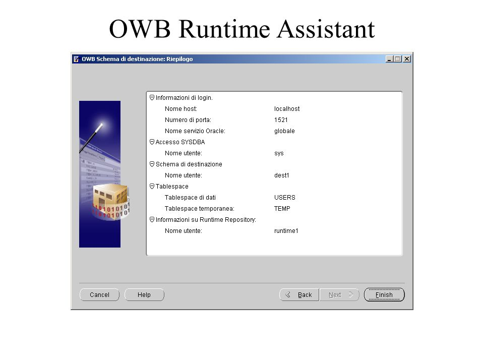 OWB Runtime Assistant