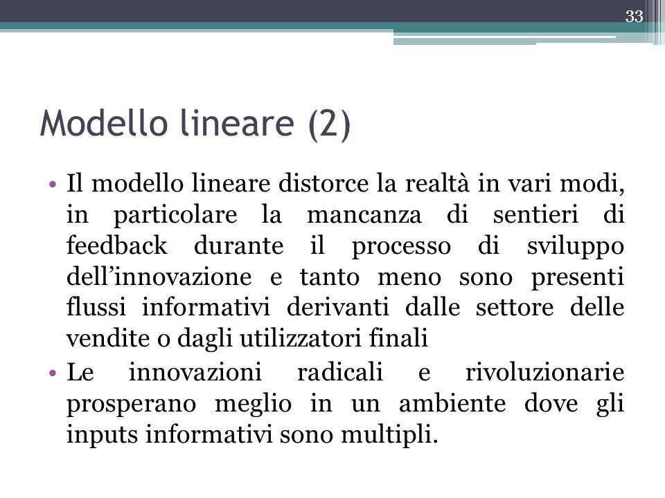 Modello lineare (2)