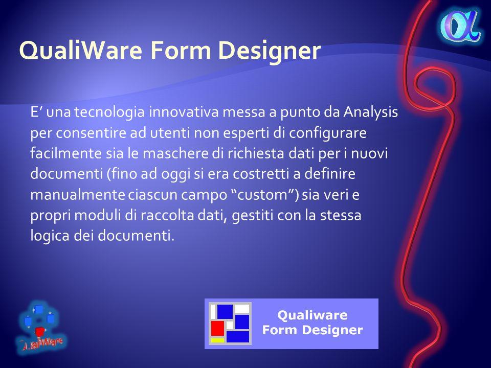 QualiWare Form Designer