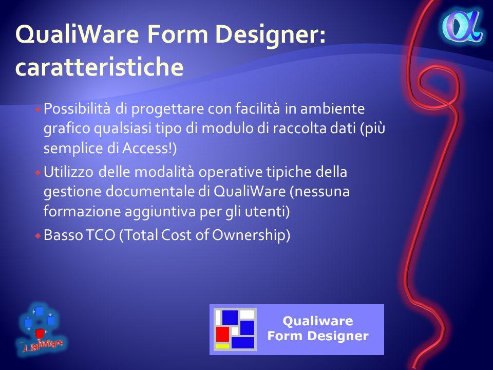 QualiWare Form Designer: caratteristiche