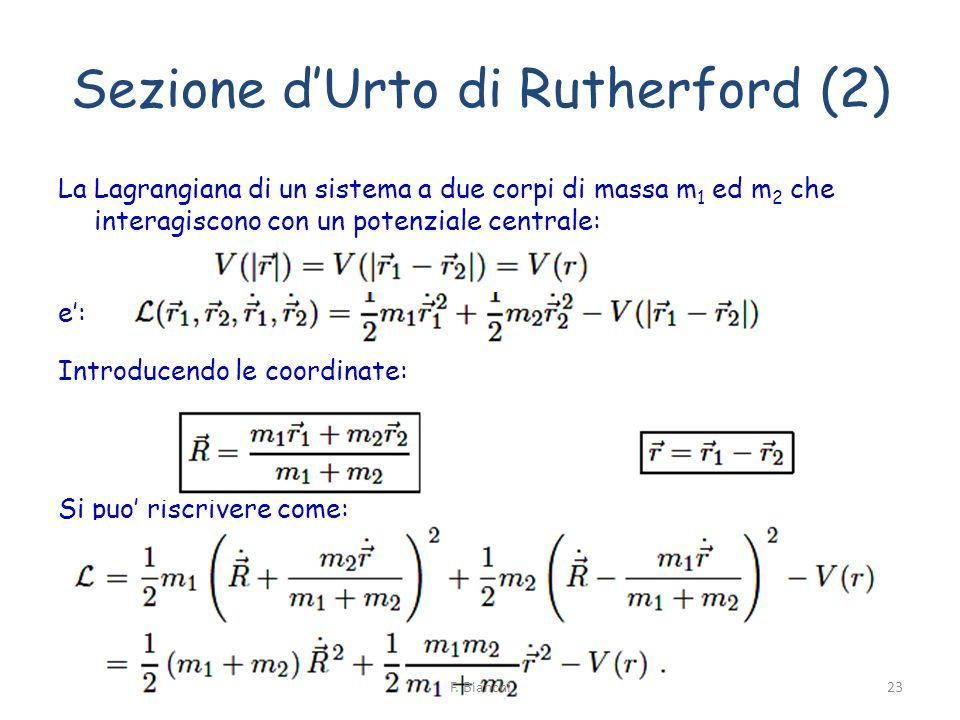 Sezione d'Urto di Rutherford (2)