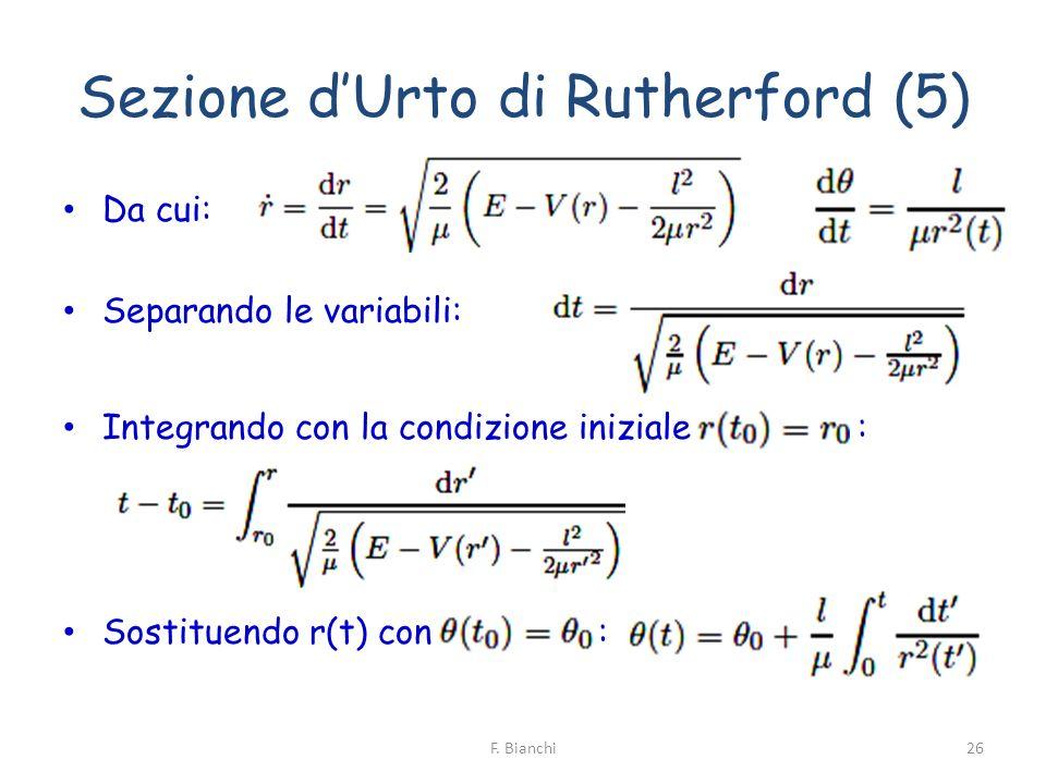 Sezione d'Urto di Rutherford (5)