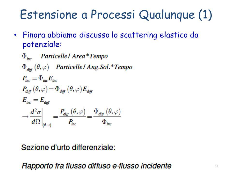 Estensione a Processi Qualunque (1)