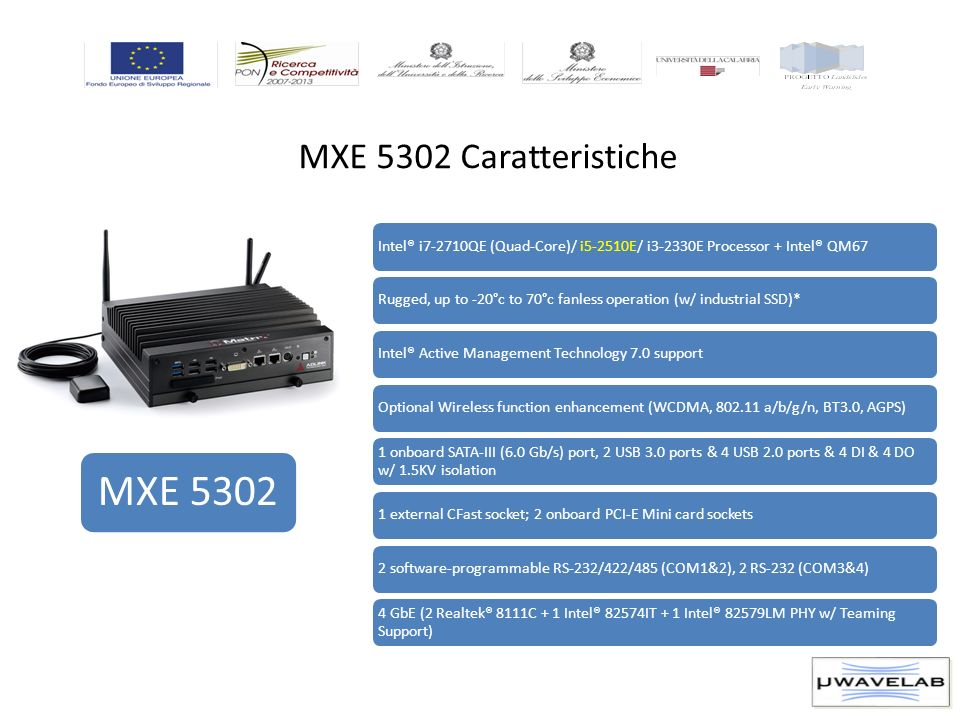 MXE 5302 MXE 5302 Caratteristiche
