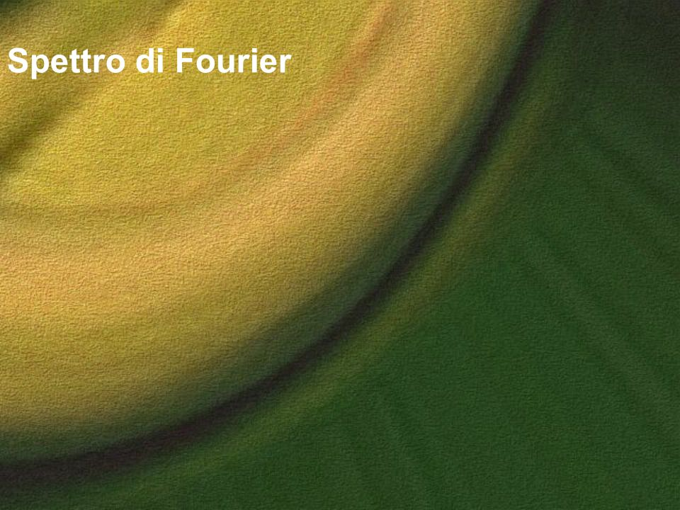 Spettro di Fourier