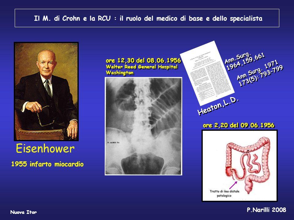 Il M. di Crohn e la RCU : il ruolo del medico di base e dello specialista