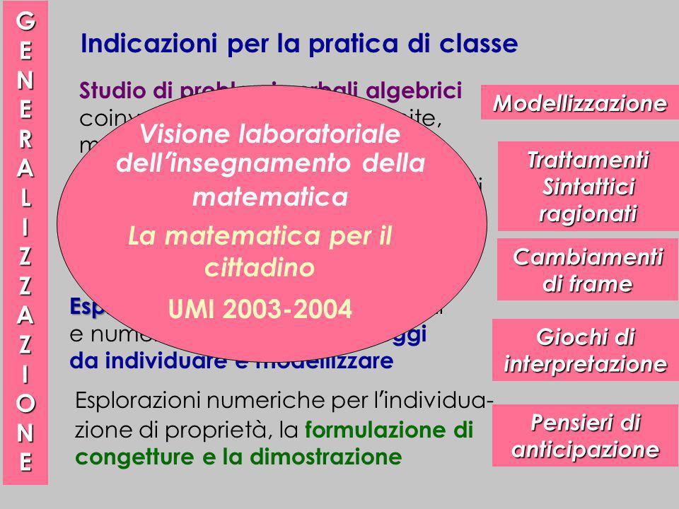 Indicazioni per la pratica di classe