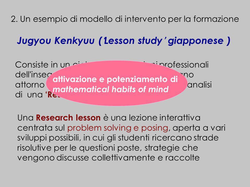 Jugyou Kenkyuu ('Lesson study' giapponese )