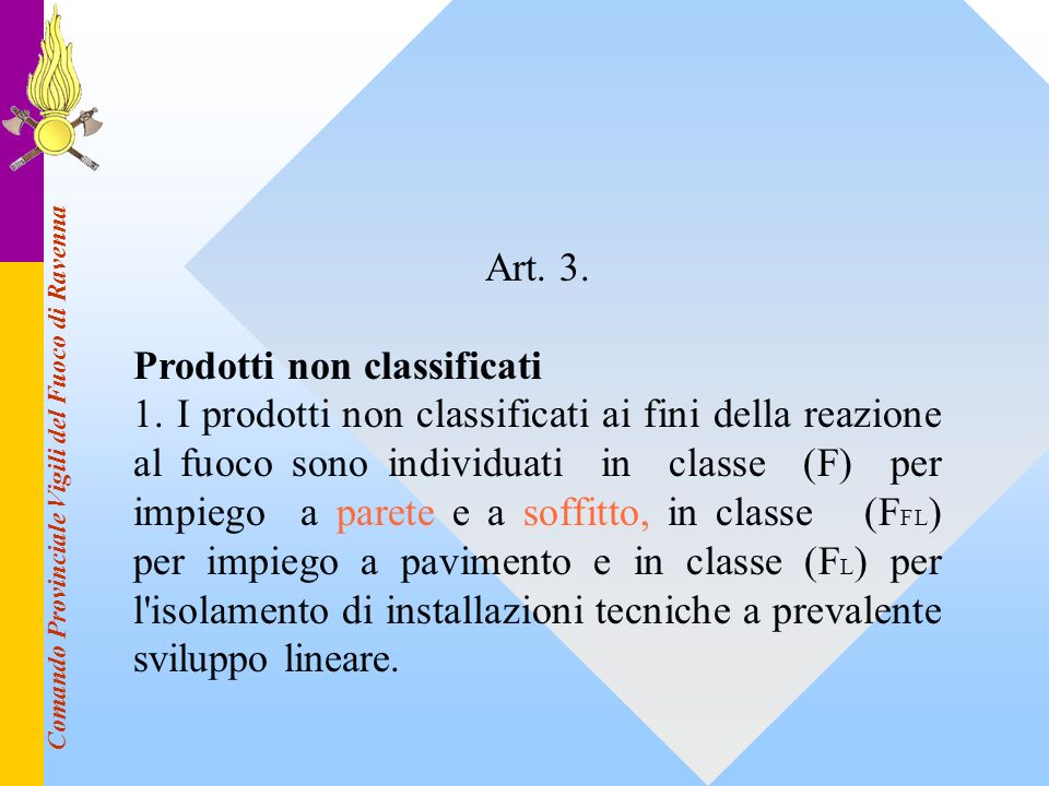 Prodotti non classificati