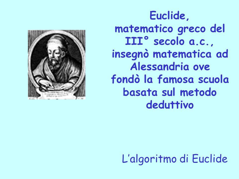matematico greco del III° secolo a.c.,