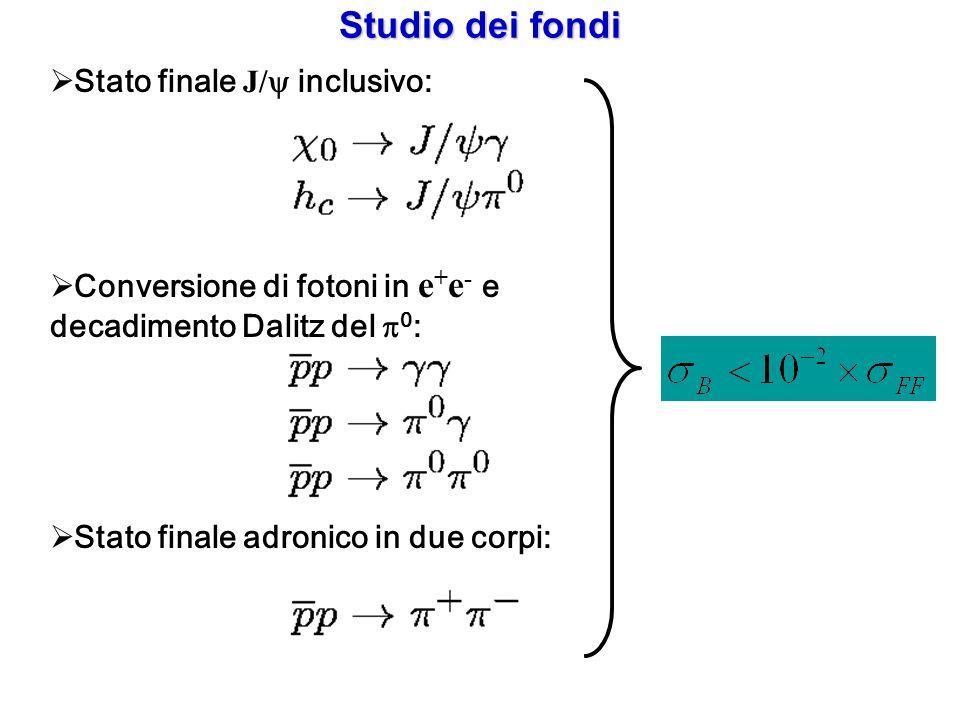 Studio dei fondi Stato finale J/y inclusivo: