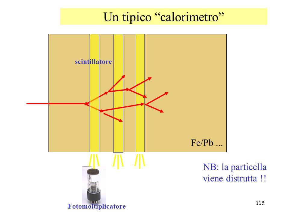 Un tipico calorimetro