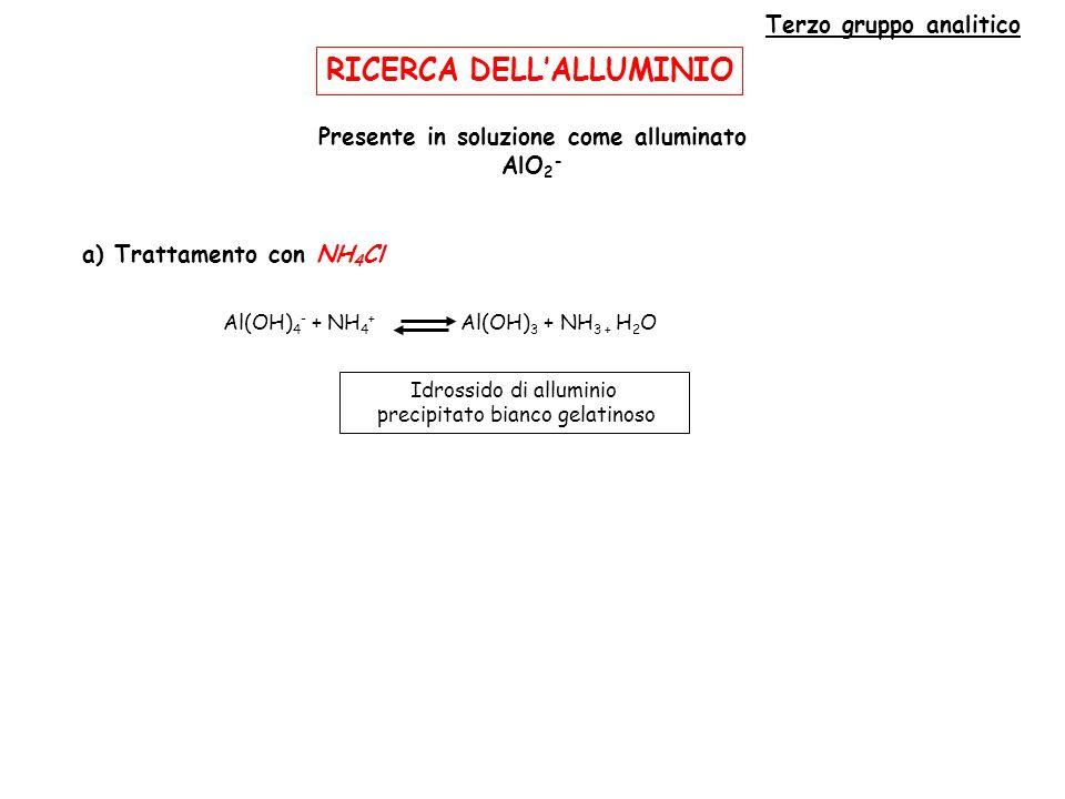 RICERCA DELL'ALLUMINIO