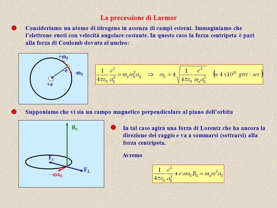 La precessione di Larmor