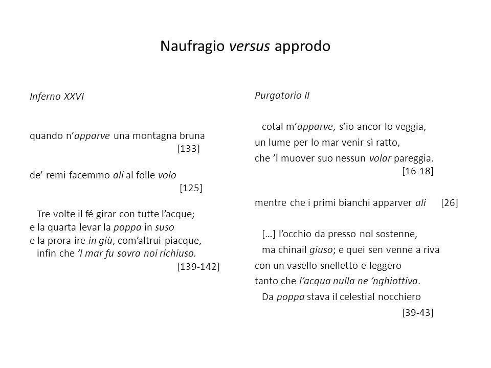 Naufragio versus approdo