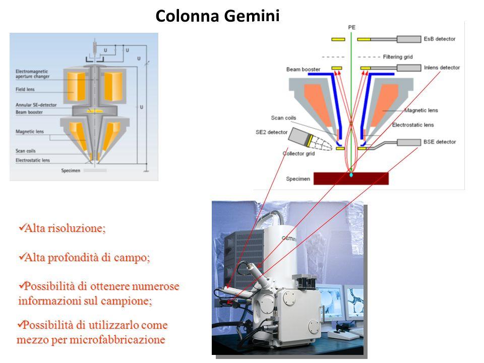 Colonna Gemini Alta risoluzione; Alta profondità di campo;