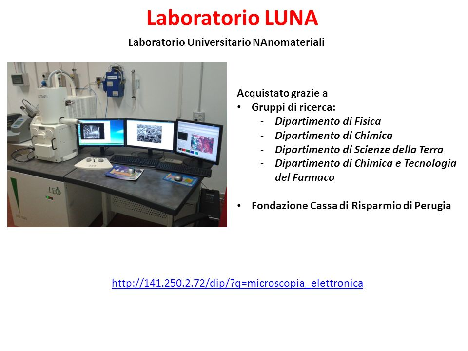 Laboratorio Universitario NAnomateriali