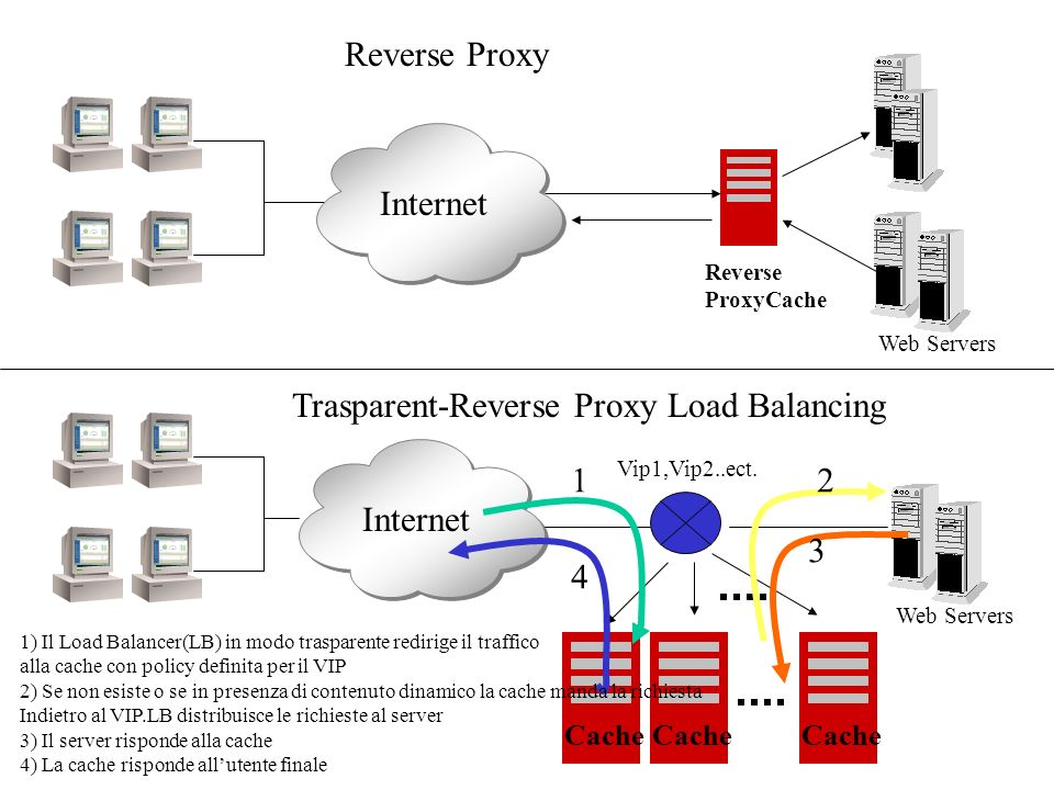 Trasparent-Reverse Proxy Load Balancing
