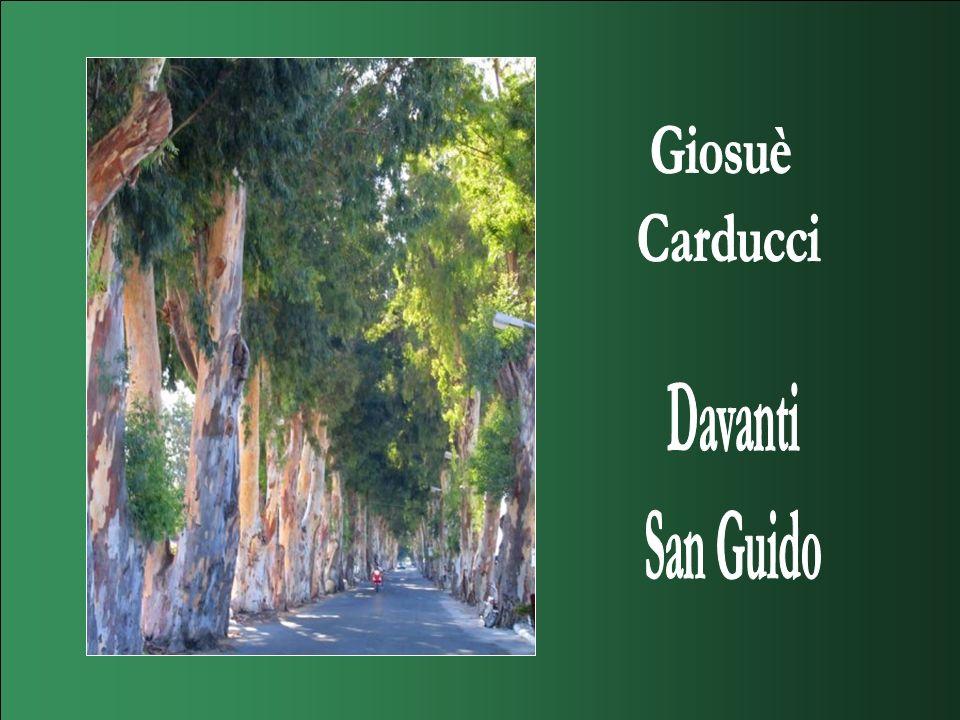 Giosuè Carducci Davanti San Guido