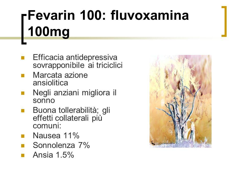 Fevarin 100: fluvoxamina 100mg