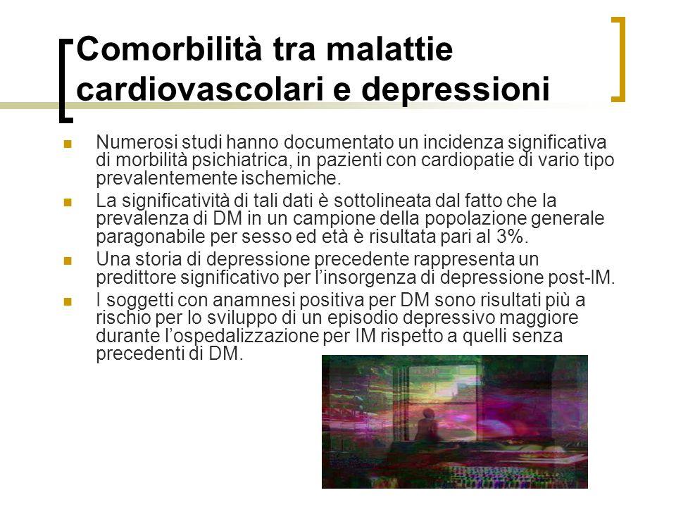 Comorbilità tra malattie cardiovascolari e depressioni