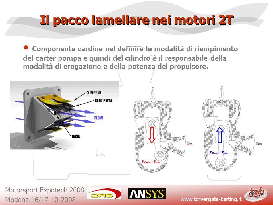 Il pacco lamellare nei motori 2T