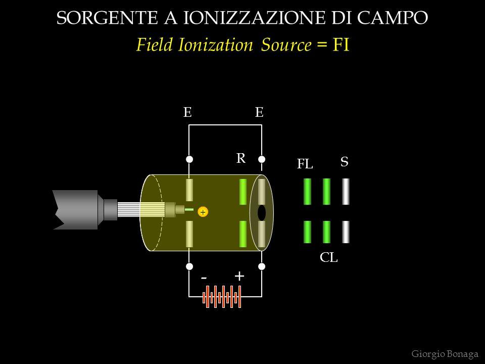 SORGENTE A IONIZZAZIONE DI CAMPO Field Ionization Source = FI