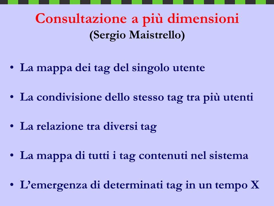 Consultazione a più dimensioni (Sergio Maistrello)