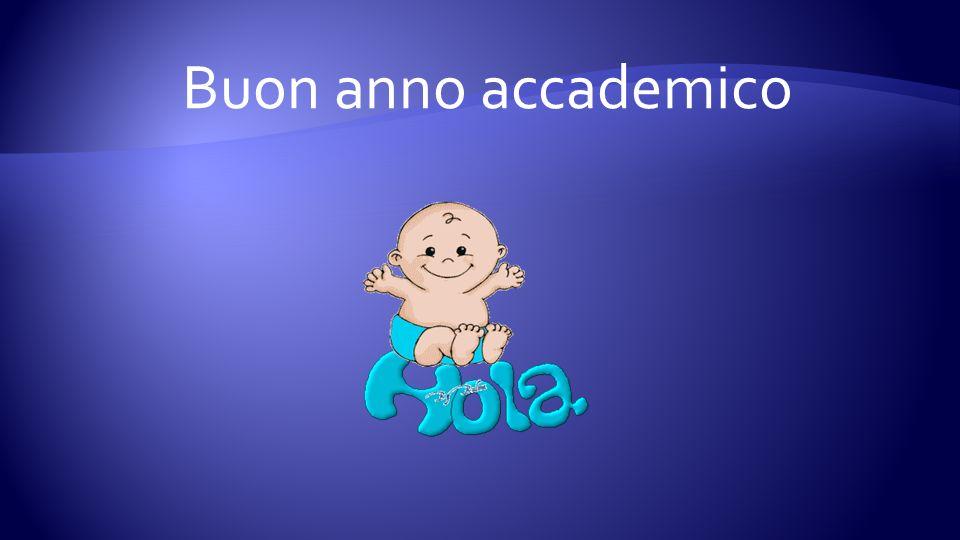 Buon anno accademico